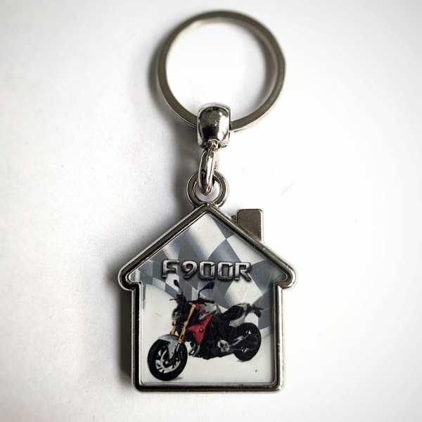 F 900 R Schlüsselanhänger personalisiert Haus
