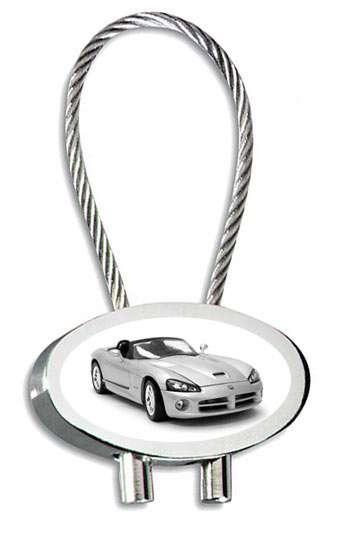 Dodge Viper Auto Schlüsselanhänger mit Gravur